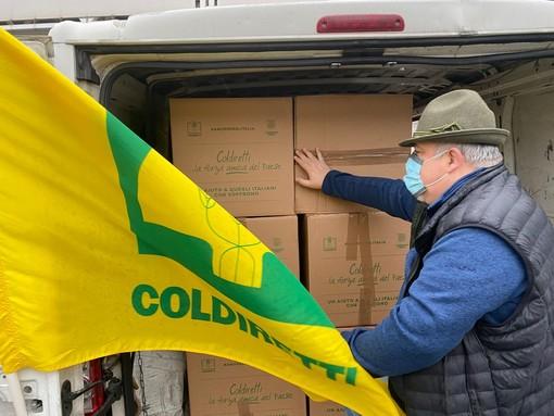 Liguria: Coldiretti dona di 2 tonnellate di cibo made in Italy ai più bisognosi
