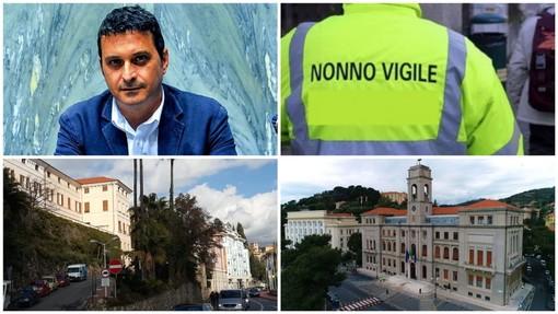 """Imperia, Roberto Saluzzo: """"Ingresso a scuola e traffico in tilt in piazza Roma a Porto, Comune schieri i nonni vigili"""""""