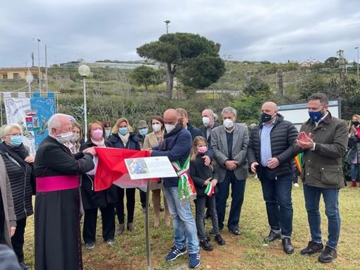 Santo Stefano al Mare, i giardini del belvedere intitolati alla memoria di suor Giacoma Coltrini: la sua vita rivolta ai bimbi e agli anziani (foto)