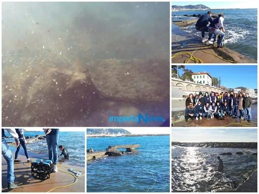 Imperia: ecco le immagini del fondale marino catturate dal robot subacqueo costruito dagli studenti di Itis e Nautico (Video)