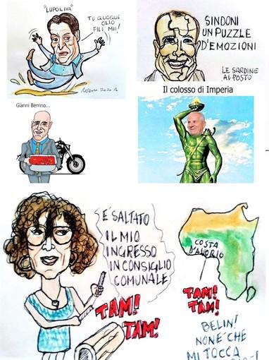 Un puzzle disordinato: Lupi lascia una poltrona, Scajola perde la pazienza, Ospedaletti cancella il tennis, a Tommasini sfilano il seggio e intanto Sanremo rinnega la Sardenaira.