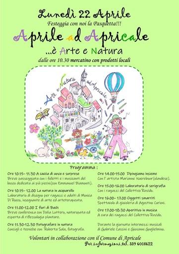 Apricale: gli eventi del mese di aprile hanno come filo conduttore i temi dell'arte e della natura e le possibili influenze reciproche