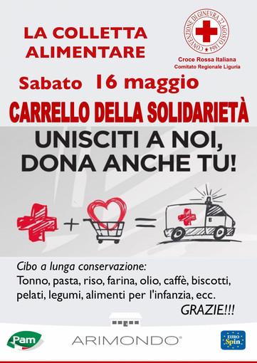 Coronavirus, sabato raccolta alimentare straordinaria della Croce Rossa nei supermercati Pam ed EuroSpin
