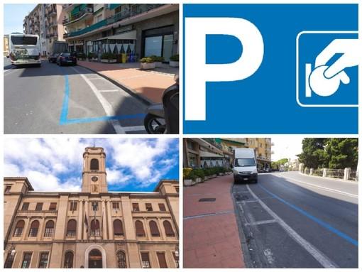 """Imperia, nuovi parcheggi a pagamento in viale Matteotti, Gagliano: """"Per impedire la sosta selvaggia sul marciapiede"""""""