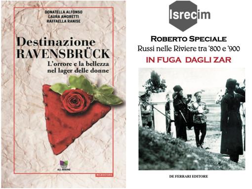 Imperia: Festival della Cultura Mediterranea, l'Istituto della Resistenza propone la presentazione di due libri
