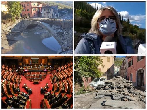 """Vessalico, a tre mesi dall'alluvione neanche un euro è stato dato al comune. Giliberti: """"Nessuna risposta né a noi né ai cittadini. Il paese è rimasto spezzato a metà"""""""