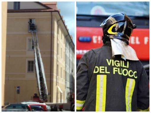 Imperia, disabile anziano cade in casa: soccorso dai vigili del fuoco e volontari della Croce d'oro