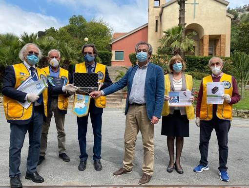 Coronavirus, il Lions Club Sanremo Host ha consegnato un video laringoscopio per l'unità di terapia intensiva del Borea