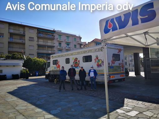 Sanremo: successo oggi per la donazione di sangue organizzata da Avis Imperia