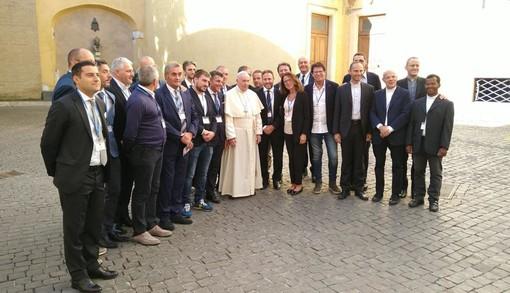 """Una delegazione del Consiglio Regionale ha incontrato Papa Francesco, Piana: """"È stato un onore per tutti"""""""