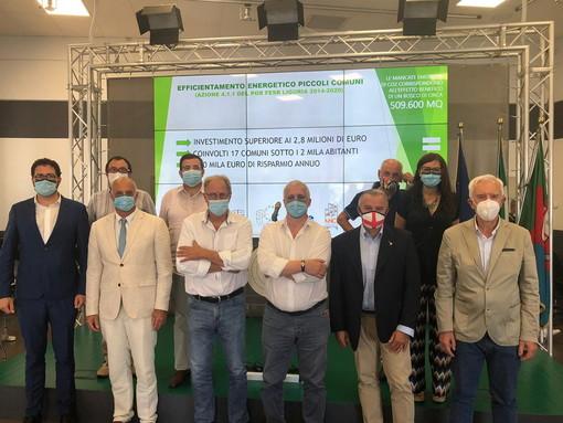 Energia, POR FESR, presentati i risultati del bando efficientamento energetico dei piccoli Comuni
