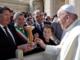 """Imperia: 'Le città dell'Olio' incontrano Papa Francesco, il presidente Lupi """"Un giorno che non dimenticheremo"""""""