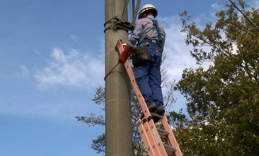 Nei prossimi giorni, restyling della rete elettrica a Taggia, Sanremo, Bussana e Cesio