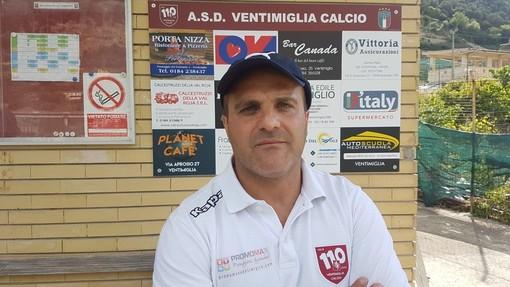 """Calcio, il Ventimiglia conferma l'allenatore Luccisano: """"Il giusto riconoscimento per il lavoro svolto"""""""