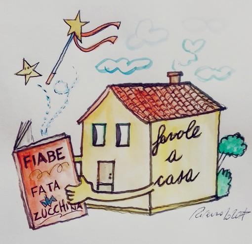 """#FavoleaCasa: la rubrica di favole """"positive"""" di Fata Zucchina piace, cresce e diventa benefica Ogni giorno un racconto a tema psicologico con la vignetta d'autore di Tiziano Riverso"""