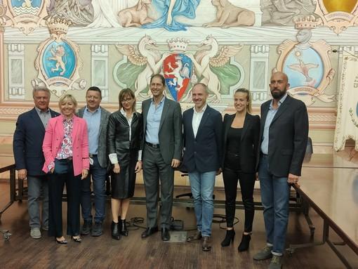 Diano Marina, Za Garibaldi presenta la Giunta: Manitta, Fetrin, Messico e Spandre i neo assessori (foto e video)