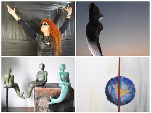 L'artista imperiese Serenella Sossi torna ad esporre a Parigi