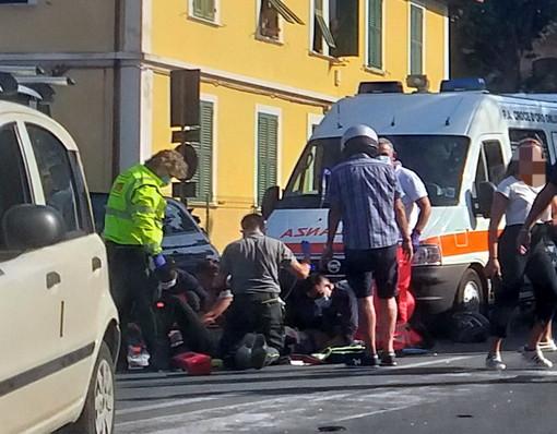 Diano Marina, incidente ai piedi di capo Berta, grave giovane a bordo di una moto