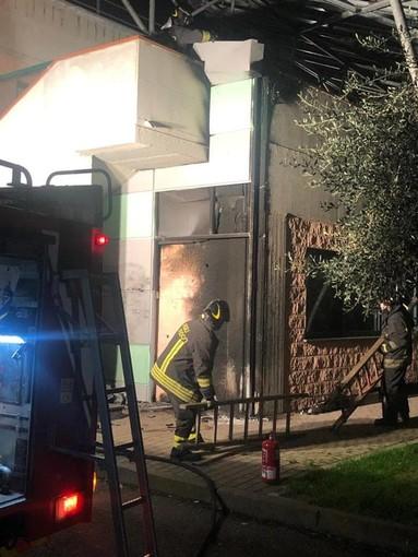 San Lorenzo al Mare: piccolo incendio alle scuole, intervento dei Vigili del Fuoco