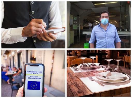 """Green pass obbligatorio anche per dipendenti di bar e ristoranti, Calvi (Fipe) lancia l'allarme: """"Molti addetti ne sono privi e devono essere sostituiti"""""""