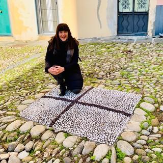La giornalista e scrittrice sanremese Laura Guglielmi oggi ospite della trasmissione 'Lineablu' su Raiuno