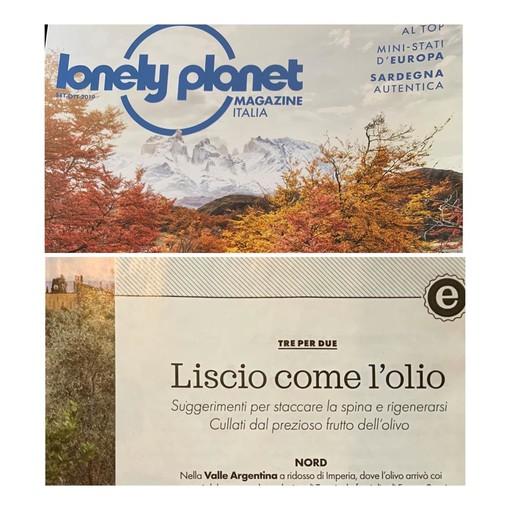 """In Valle Argentina e a Badalucco il relax è """"Liscio come l'olio"""" per la Lonely Planet"""