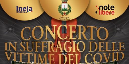Pieve di Teco, annullato il concerto in suffragio delle vittime del Covid previsto per il 16 ottobre