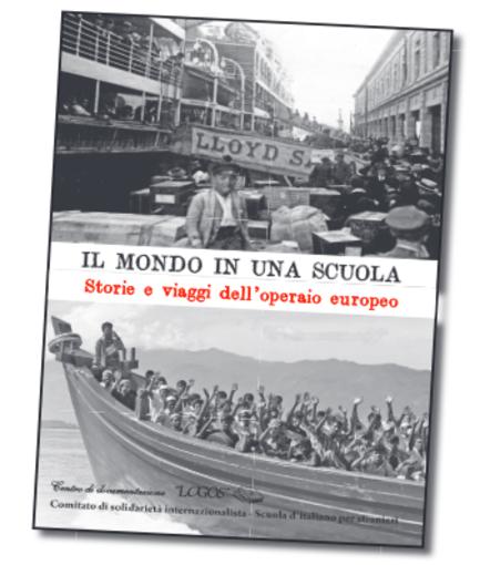 """Presentazione del libro """"Il mondo in una scuola"""" e le testimonianze dei migranti che frequentano corsi di italiano per stranieri"""