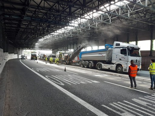 """Autostrade, interventi e cantieri in arrivo, Giampedrone: """"In Liguria unicum per mole lavori, ma serve esenzione dei pedaggi nei tratti interessati"""""""