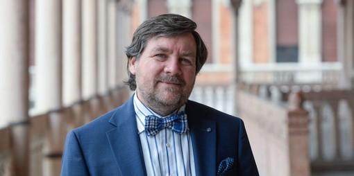 In foto Luca Mercalli, presidente della Società Meteorologica Subalpina