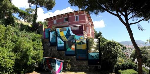 """Imperia: riaprono i musei cittadini e a Villa Faravelli spunta un nuovo murales, l'Assessore Roggero """"Impegno forte sulle strutture, crediamo nella cultura"""""""