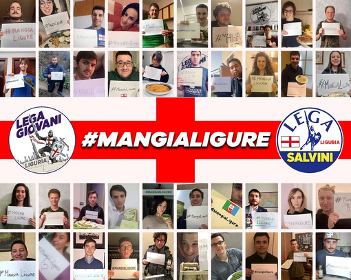 Il coronavirus non ferma i Giovani della Lega, al via campagna social #mangialigure