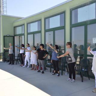 """""""Music & Coach"""": un momento spensierato per gli operatori della Residenza Protetta """"Anselmo Pisano"""" di Apricale"""