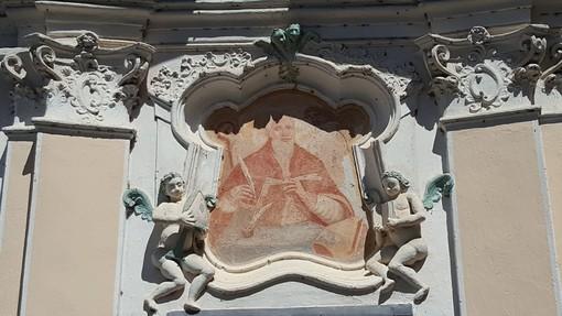 La chiesa di San Bernardo al cui interno si trova il quadro attribuito a Van Dick