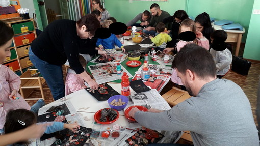 Diano Marina: nei saloni del Nido G. Canepa, ricreata ancora una volta la magica atmosfera del Natale