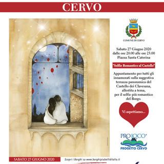 Cervo, un selfie romantico al castello dei Clavesana: l'evento all'insegna dell'amore si svolgerà sabato