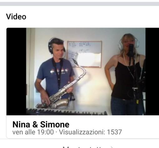Il coronavirus non ferma il duo musicale Nina e Simone