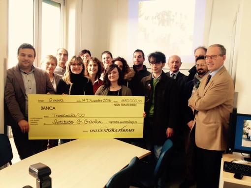 Coronavirus, solidarietà in Valle Arroscia: la Onlus la 'Forza di un sorriso' dona 8000 euro