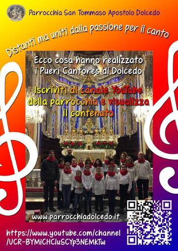 Un video realizzato dal Pueri Cantores di Dolcedo promosso dal Parroco del paese Don Carmelo Licciardello