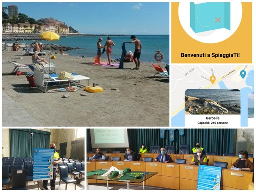 """Coronavirus, steward e app """"Spiaggiati"""" per andare al mare in sicurezza. Presentato il progetto per l'estate 2020 (foto e video)"""