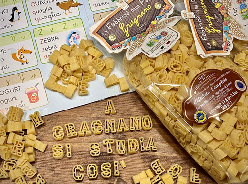 Nasce a Gragnano il primo alfabeto completo della pasta IGP