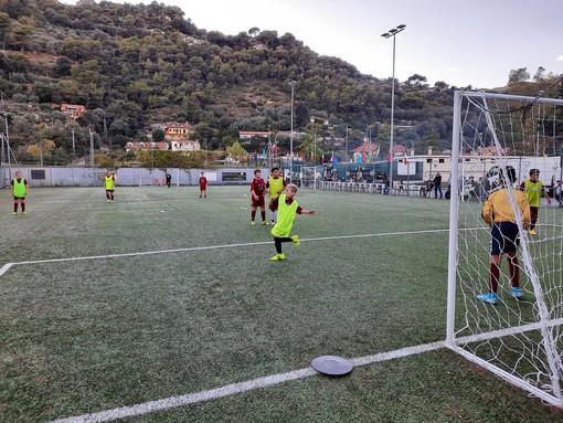Calcio, amichevole equilibrata tra i 2011 della Vallecrosia Academy e il Ventimiglia (foto)