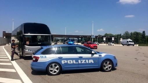 Operazione congiunta europea 'Truck & Bus': controllo del trasporto professionale di merci e persone dal 10 al 16 maggio