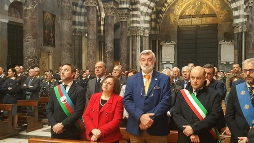 Genova: alla cattedrale di San Lorenzo la tradizionale celebrazione del Precetto Pasquale Interforze