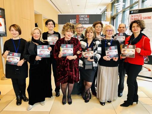 Inaugurata al Jefferson Hospital di Philadelphia la mostra 'Art versus cancer & violence' sul tema del dolore al femminile