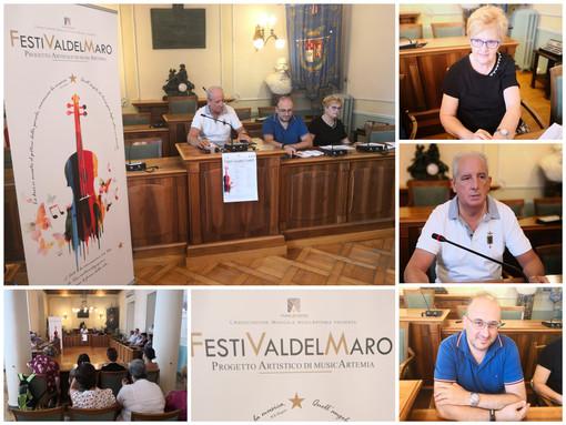 FestiValdelMaro presentata oggi la seconda edizione, musica e cultura per Borgomaro e Aurigo (Foto e video)