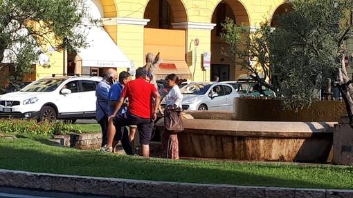 """Imperia: al via al restyling della fontana di piazza Dante. Gandolfo """"Presto i lavori di impermeabilizzazione"""""""