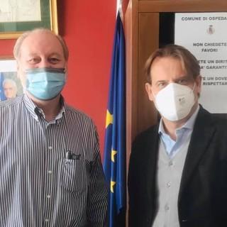 L'Assessore Regionale all'Urbanistica Marco Scajola ad Ospedaletti per incontrare il Sindaco Daniele Cimiotti e l'Amministrazione comunale