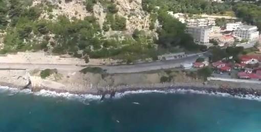 """Diano Marina, venerdì riapre l'incompiuta. Chiappori: """"Mitigato il rischio, ora pensiamo alla ciclabile"""" (video)"""