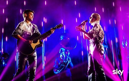 X Factor: gli imperiesi 'Seawards' vanno al quarto live su Sky Uno con i Depeche Mode e Tenco